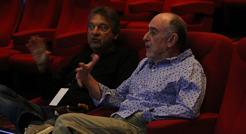 Alain Boublil and Claude-Michel Schönberg