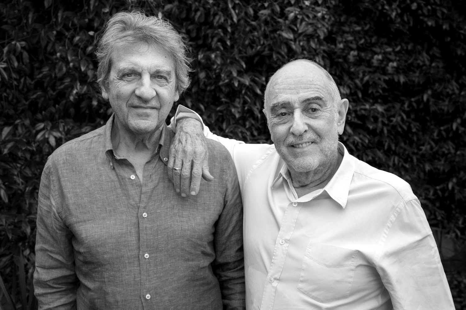 Alain Boublil and Claude-Michel Schönberg.